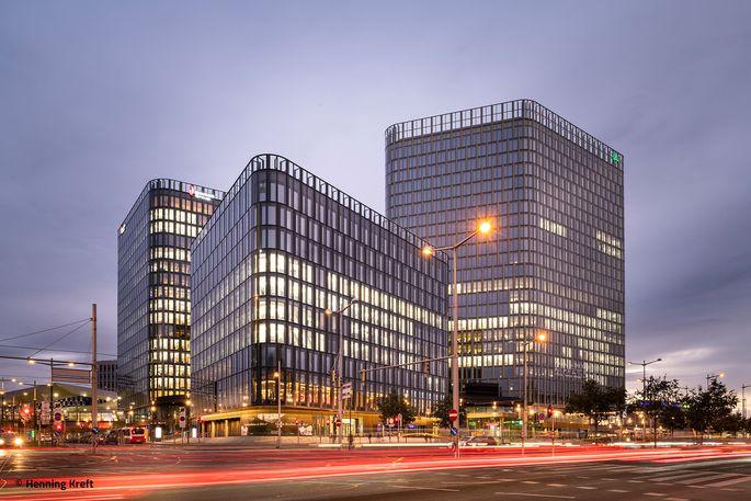 Insgesamt verfügt The Icon Vienna über eine Fläche von rund 75.000 Quadratmeter.