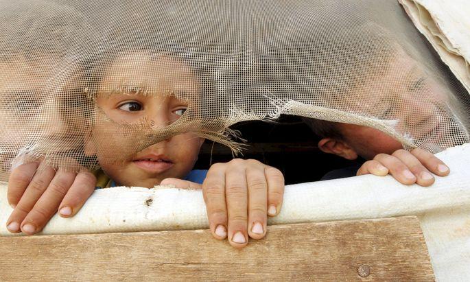 Syrische Flüchtlingskinder