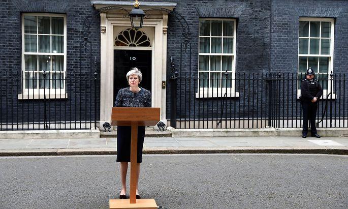 Theresa May ist auf Konfrontationskurs mit Brüssel.