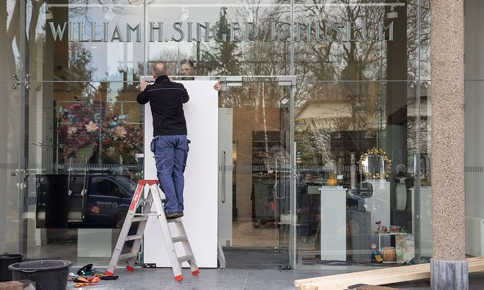 Das Singer Laren Museum in Hilversum wurde Opfer eines Diebstahls.
