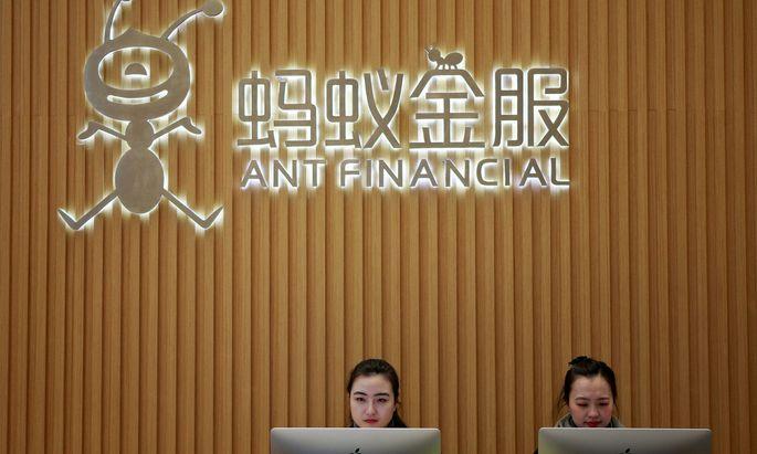 Ant plant den größten Börsengang der Geschichte. Der Bezahldienst gehört zum Großteil Alipay.
