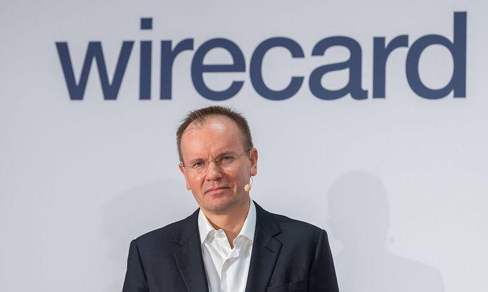 Wirecard BPK der Firma Wirecard. CEO Dr. Markus Braun Aschheim Bayern Deutschland *** Wirecard BPK of the company Wirec