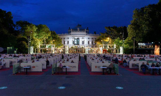 Vergangenen Samstag startete das Festival – heuer sei der Andrang geringer, heißt es von der Stadt.