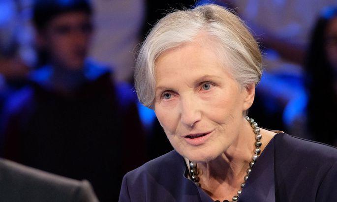 """Für die ehemalige Präsidentin des Obersten Gerichtshofs Irmgard Griss wäre der Verbleib im Amt bei Verurteilung """"völlig inakzeptabel""""."""
