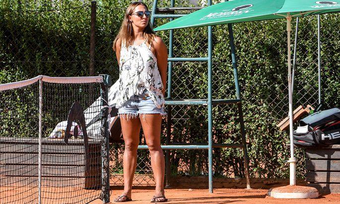 """Die Vorarlbergerin Tamira Paszek begann im Alter von viereinhalb Jahren mit Tennis. """"Oft habe ich sechs Stunden am Tag gespielt."""""""