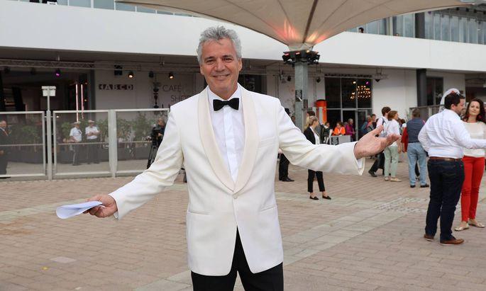 Ein Bild aus glücklicheren Tagen: Peter Edelmann 2019 bei der Eröffnung der Seefestspiele Mörbisch.