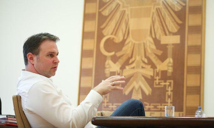 Traiskirchens Bürgermeister Andreas Babler