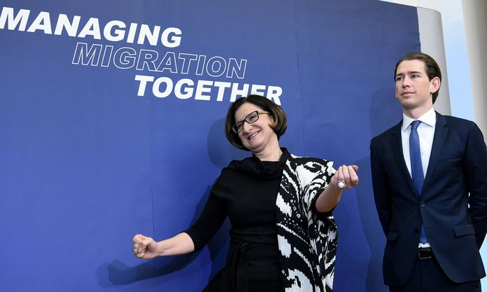 Innenministerin Mikl-Leitner und Außenminister Sebastian Kurz luden ihre Kollegen aus Südosteuropa zum Flüchtlingsgipfel nach Wien – nur die aus Griechenland nicht.