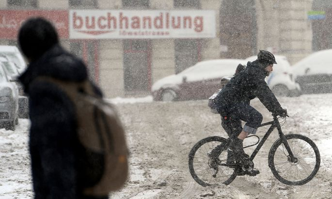 Trend viele Winterradler noch