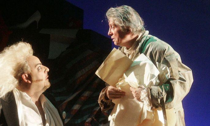 Wolfgang Klivana (rechts) als Giacomo Casanova 2006.