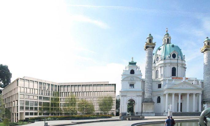 Umbaupläne am Karlsplatz