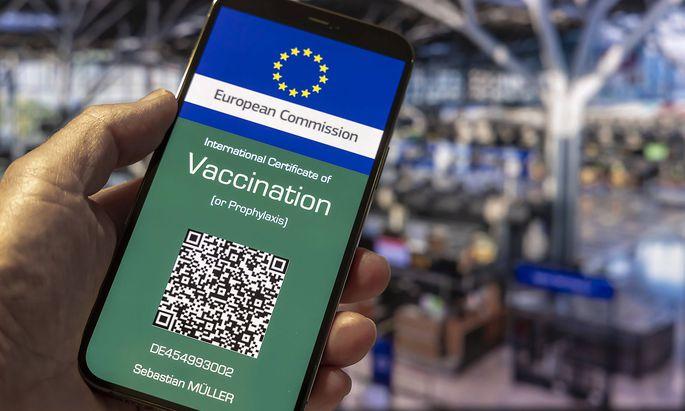 Die Europaeische Kommission arbeitet an einem digitalen Impfpass, der die eingeschraenkten Reisemoeglichkeiten erweitert u
