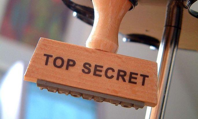 Symbolbild: Geheimhaltung