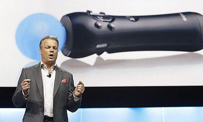 Dille, Senior Vice President Marketing and PlayStation Network, speaks about the Sony PlayStation Mov