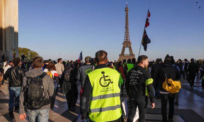 """""""Gelbwesten""""-Proteste in Frankreich"""
