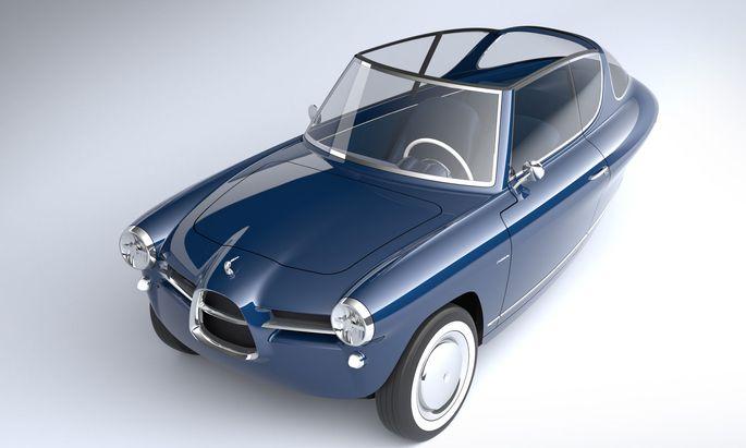 Elektrodreirad aus Estland: Nobe 100 GT mit Italo-Klassik und Platz für zwei.