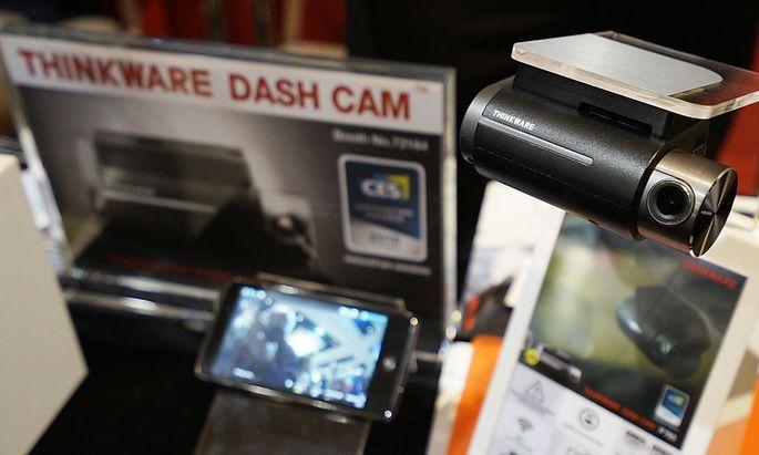 Symbolfoto: Eine Dashcam von Thinkware
