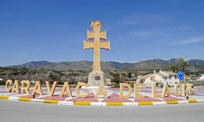 Caravaca de la Cruz hat einen besonderen Stellenwert für Pilger durch Spanien, vor allem in einem alle sieben Jahre ausgerufenen Heiligen Jahr.