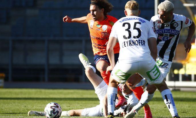 Seit zwei Jahren spielen die Hartberger in der Bundesliga mit.
