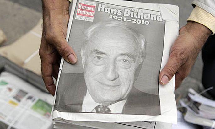 Dichand Familie nimmt Zeitung