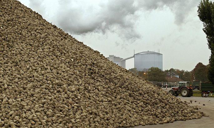 Agrana erzeugt aktuell gut 250.000 Kubikmeter Biosprit aus Weizen, Mais und Zuckerrüben pro Jahr (Archivbild).