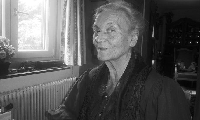 """Jausenbrote für """"Herrn Anekdoteles"""": Ursula Kals-Friese."""