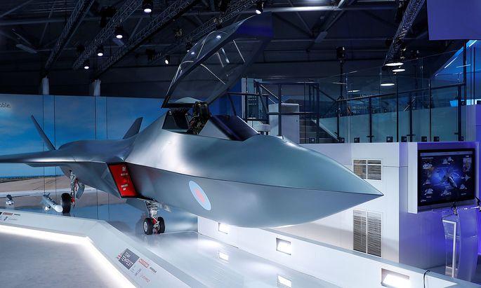 """Tempest""-Modellbeid er Farnborough Airshow"