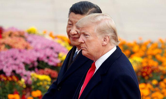 Unter Chinas Staats- und Parteichef Xi Jinping und US-Präsident Donald Trump haben die Friktionen zwischen Washington und Peking zugenommen.