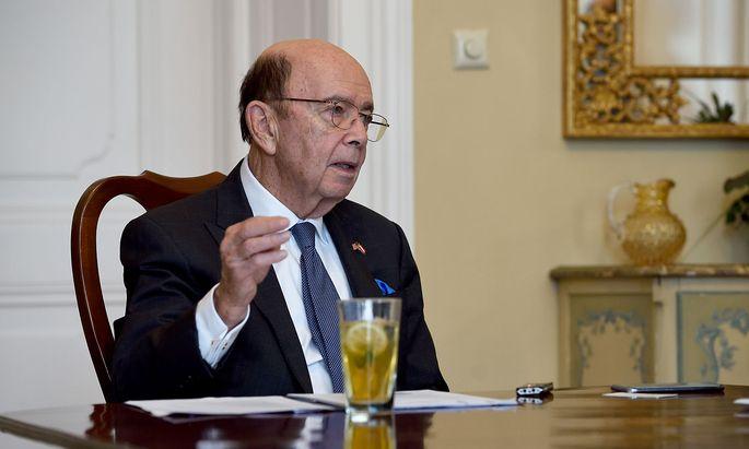 US-Handelsminister Wilbur Ross