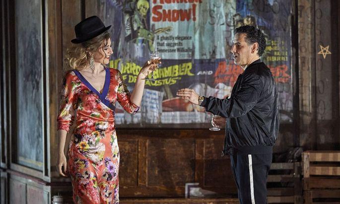 Juan Diego Flórez und Nicole Car als Faust und Marguerite.