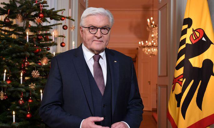 Opfer des Hackerangriffs: Präsident Steinmeier.