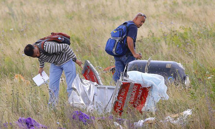 epaselect UKRAINE MALAYSIA AIRLINES PLANE CRASH