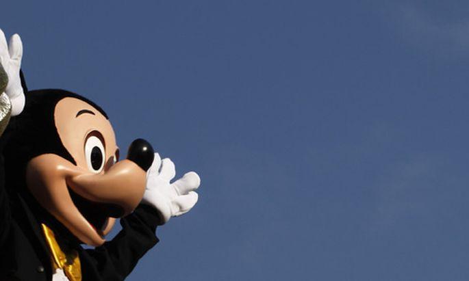 Amerika eine bankrotte Mickey