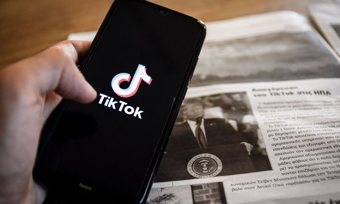 US-Präsident Trump bezichtigt die Videoplattform TikTok der Spionage.