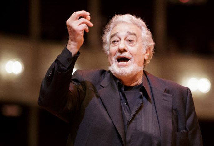 Plácido Domingo - hier in der Staatsoper - feiert den 50. Jahrestag seines Wien-Debüts.