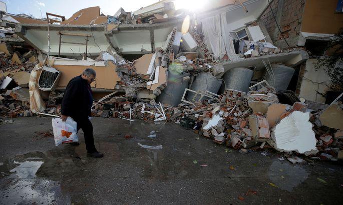 Suche nach Überlebenden nach Erdbeben in Albanien eingestellt