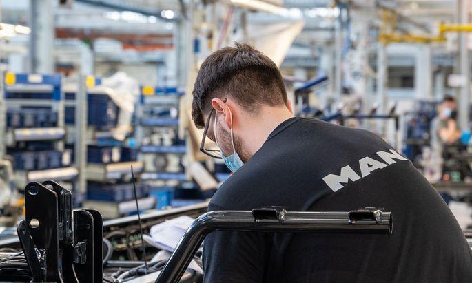 Das MAN-Werk in Steyr soll, regelt man sich auf keine Übernahme, bis Ende 2023 geschlossen werden.