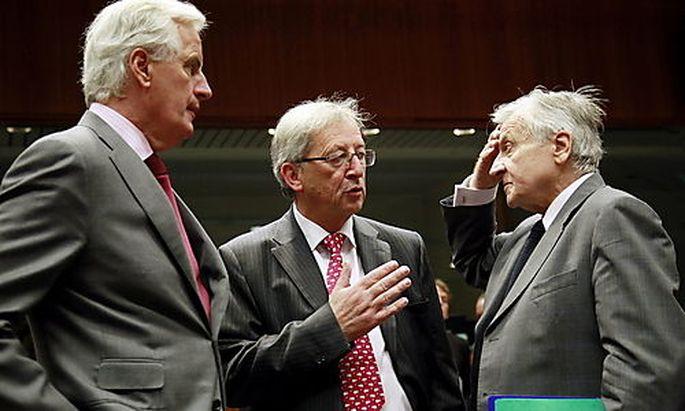 Die Euro-Finanzminster haben den Knoten zerschlagen und sich auf die Beteiligung Privater geeinigt