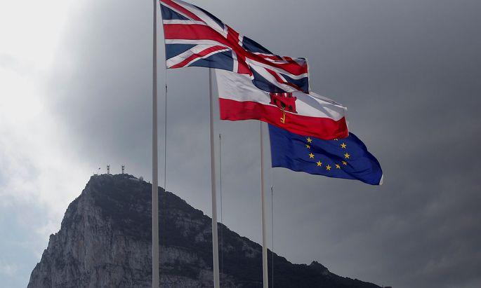 Gibraltar mit seinem Affenfelsen könnte zum Brexit-Härtetest werden.
