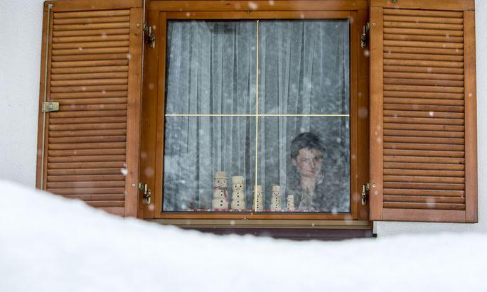 Archivbild: Schnee in Tirol.