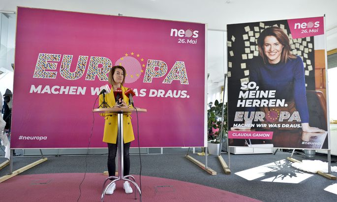 Spitzenkandidatin Claudia Gamon