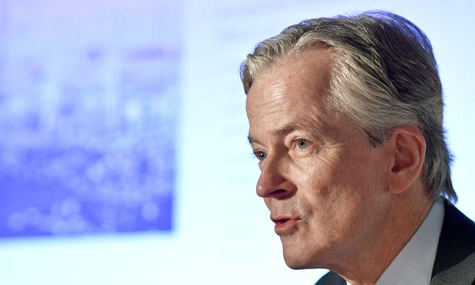 EVN-Chef Peter Layr konnte das Ergebnis trotz niedrigster Strompreise steigern.