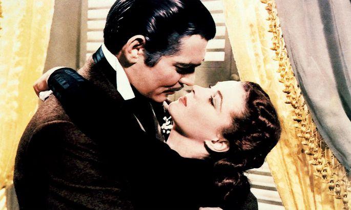 Der Film mit Vivien Leigh und Clark Gable war ein großer Erfolg.