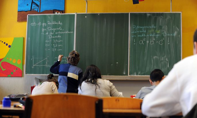 Symbolbild Schulklasse