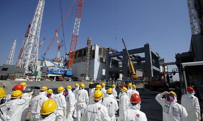 Atomruine und Sorgenkind: das Akw in Fukushima.