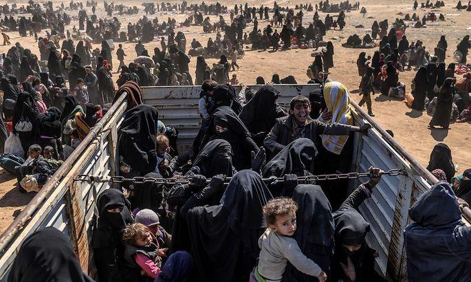 Was vom IS blieb. Viele Gefangene, auch Frauen, zeigen keine Reue.