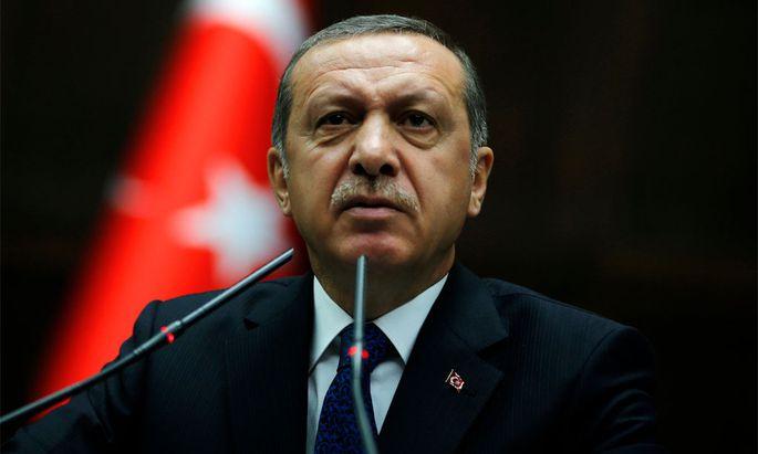 Der türkische Premier Erdoğan polarisiert.