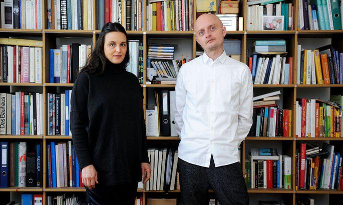 """Andreas Wesle und Anna Liska haben den diesjährigen Markenwettbewerb der Post AG und der """"Presse"""" gewonnen."""