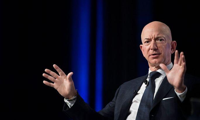 """Jeff Bezos ist laut """"Forbes"""" der derzeit reichste Mensch der Welt."""