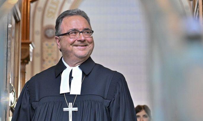 Der evangelisch-lutherische Bischof Michael Chalupka